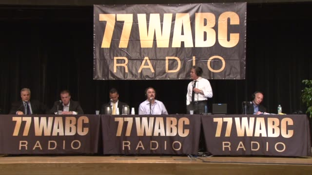 Geraldo Rivera interviews Barry Sloane CEO and President of The Small Business Authority Co during live 77 WABC broadcast from the Job Fair Geraldo...