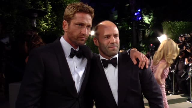 Gerard Butler and Jason Statham at The 2013 Vanity Fair Oscar Party Hosted By Graydon Carter Gerard Butler and Jason Statham at The 2013 Vanity at...