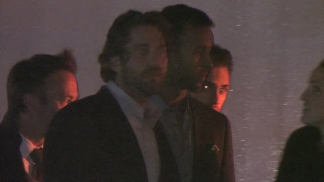 Gerard Butler at CAA party in Bel Air at the Celebrity Sightings in Los Angeles at Los Angeles CA