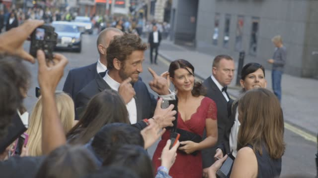Gerard Butler at Celebrity Sightings at The GQ Awards