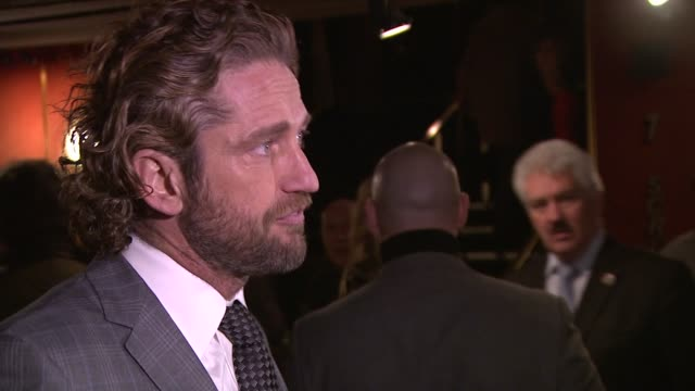 Gerard Butler at Coriolanus Special Screening at The Curzon Mayfair on January 5 2012 in London England