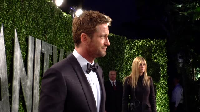 Gerard Butler at The 2013 Vanity Fair Oscar Party Hosted By Graydon Carter Gerard Butler at The 2013 Vanity Fair Oscar Party at Sunset Tower on...