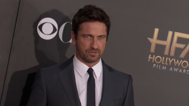 Gerard Butler at The 2014 Hollywood Film Awards in Los Angeles CA