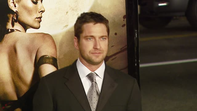 Gerard Butler at the '300' Premiere at Grauman's Chinese Theatre in Hollywood California on March 5 2007