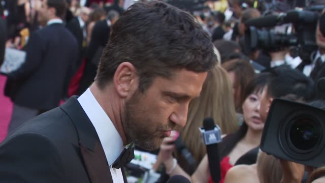 Gerard Butler at the 82nd Annual Academy Awards Arrivals at Hollywood CA