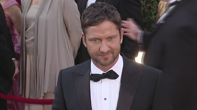 Gerard Butler at the 82nd Annual Academy Awards Arrivals Part 2 at Los Angeles CA