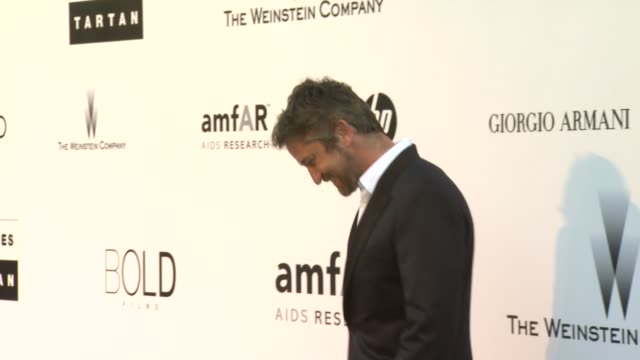 Gerard Butler at the amfAR Cinema Against AIDS Gala at Antibes