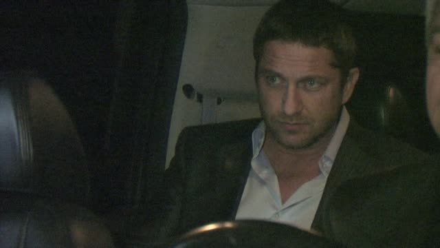 Gerard Butler at the Buffalo Club in Santa Monica at the Celebrity Sightings in Los Angeles at Los Angeles CA