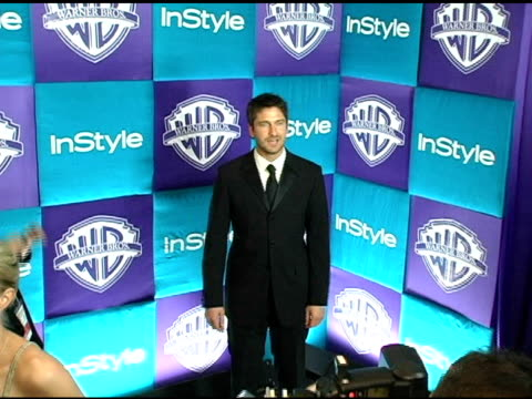 Gerard Butler at the In Style Magazine and Warner Brothers Studios 6th Annual Golden Globe Party at the Beverly Hilton in Beverly Hills California on...