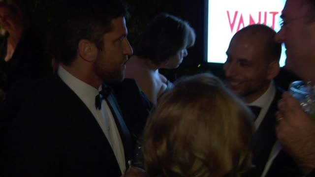 Gerard Butler at the Inside The Vanity Fair Oscar Party 2010 at West Hollywood CA