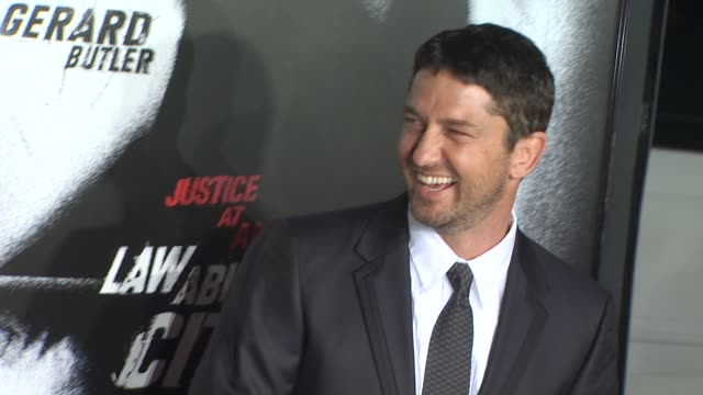Gerard Butler at the 'Law Abiding Citizen' Screening at Hollywood CA