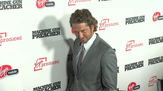 Gerard Butler at the 'Machine Gun Preacher' Premiere at Beverly Hills CA