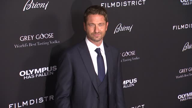 Gerard Butler at the 'Olympus Has Fallen' Los Angeles Premiere Gerard Butler at the 'Olympus Has Fallen' Los at The Dome at Arclight Hollywood on...