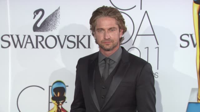 Gerard Butler at the The 2011 CFDA Fashion Awards at New York NY