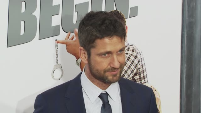 Gerard Butler at the 'The Bounty Hunter' Gala Premiere Red Carpet Arrivals at New York NY