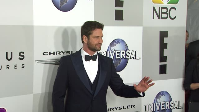 Gerard Butler at the Universal NBC Focus Features E Entertainment Golden Globes After Party Sponsored By Chrysler at The Beverly Hilton Hotel on...
