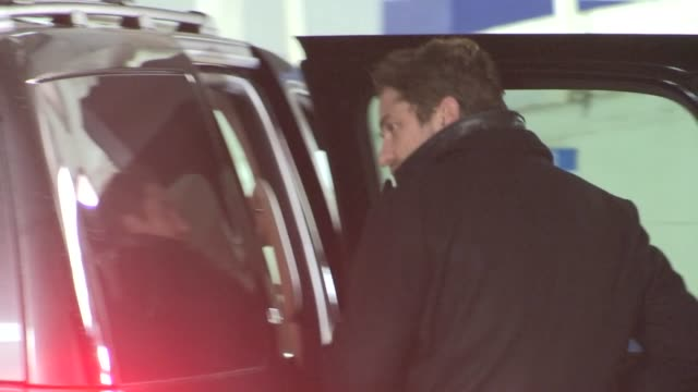 Gerard Butler departs Bootsy Bellows in West Hollywood 11/17/12