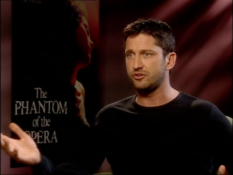 CMS Gerard Butler interview SOT Talks of the singing involved in his role