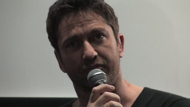Gerard Butler on the effect playing the character had on him and the additional pressures of producing the movie at the Law Abiding Citizen Press...