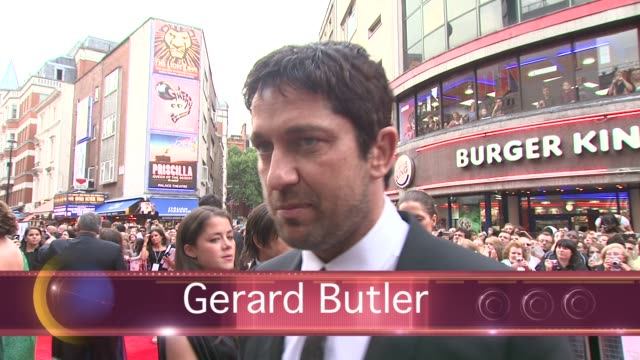 Gerard Butler tonight publicly denied he is dating anyone among tabloid reports that he and his current costar Jennifer Aniston are dating The hot...