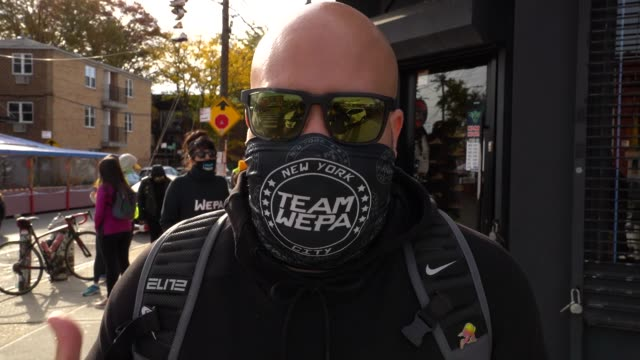 gerardo rodriguez, founder of team wepa, on why he put this event together, why it's important to spread awareness to the community and other events... - 創始者点の映像素材/bロール
