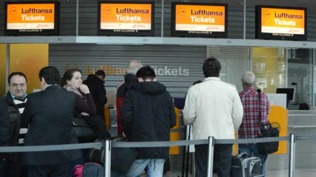 German airline Lufthansa cancelled around 750 short and medium haul flights Wednesday as pilots began a two day walkout in a long running dispute...