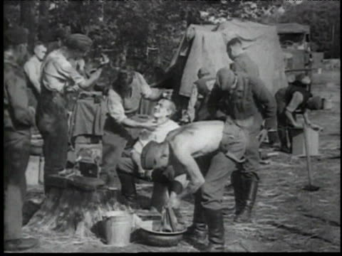 german army advancing through poland - poland stock videos & royalty-free footage