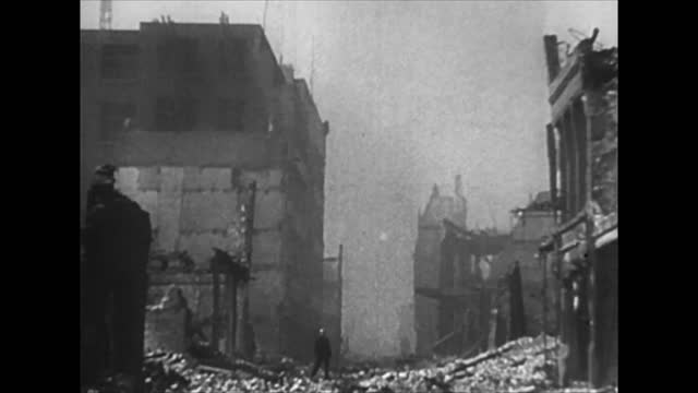 german bombing of rotterdam - chaos stock videos & royalty-free footage