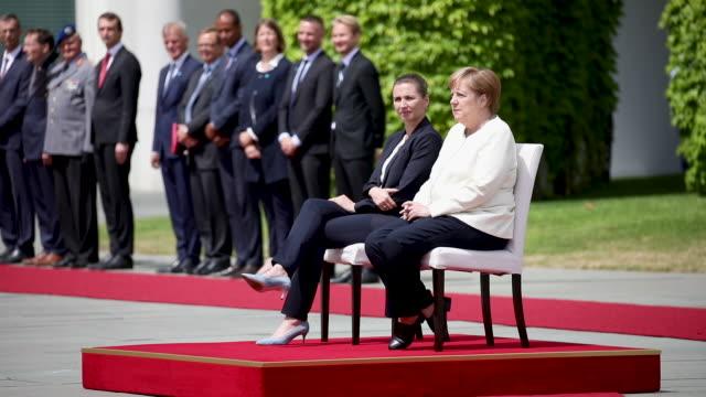 DEU: New Danish Prime Minister Mette Frederiksen Meets Angela Merkel