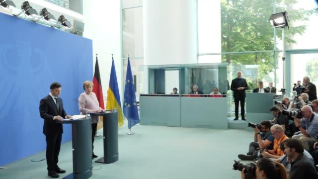 DEU: New Ukrainian President Zelensky Visits Berlin