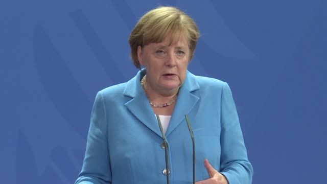 German Chancellor Angela Merkel calls for a common European response to immigration issues within the European Union adding that it is important that...