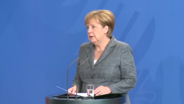german chancellor angela merkel condemns in the strongest terms the failed coup in turkey but calls on president recep tayyip erdogan to deal with... - law stock videos & royalty-free footage