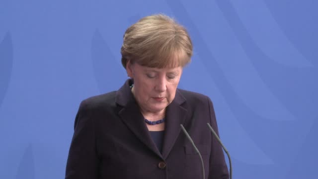 german chancellor angela merkel said she was going wednesday to the french alpine region where a german passenger plane crashed killing all 150... - flugpassagier stock-videos und b-roll-filmmaterial