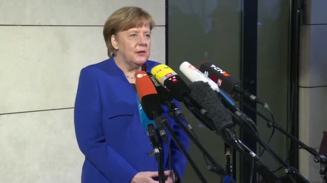 German Chancellor Angela Merkel said the country's top parties still had big obstacles to surmount before reaching a new coalition deal ahead of a...