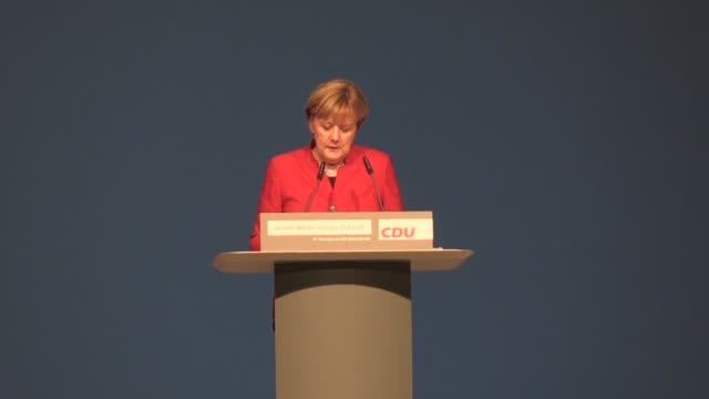 german chancellor angela merkel sets out her battle strategy to counter a wave of populism that has consumed key allies abroad - populism stock videos and b-roll footage