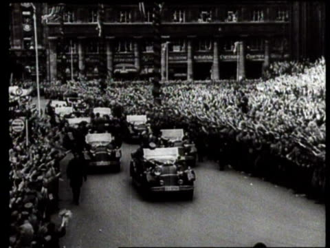 stockvideo's en b-roll-footage met german elections / germany - 1936