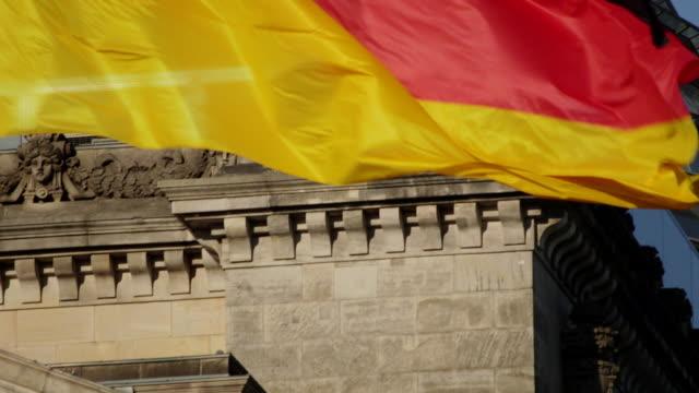 stockvideo's en b-roll-footage met german flag - alle vlaggen van europa
