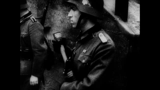 german forces invade holland during world war ii - netherlands stock videos & royalty-free footage