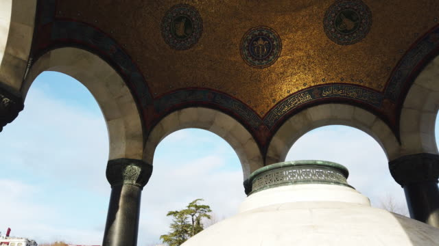 german fountain, istanbul - 18th century stock videos & royalty-free footage