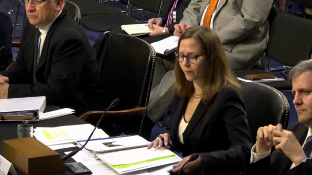 german marshall fund alliance for securing democracy director laura rosenberger says at a senate hearing on the social media influence of russia that... - russian ethnicity stock videos & royalty-free footage