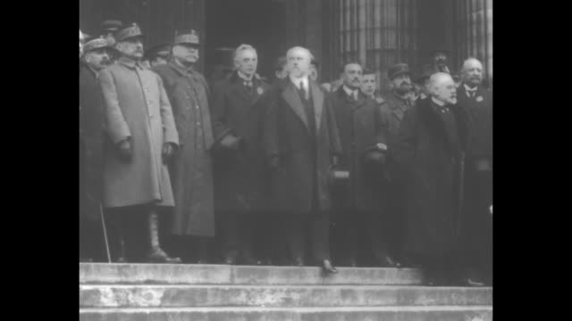 german military officers entering building /general / generals and other officials of the kapp putsch to return the monarchy to power / german troops... - 1920 stock videos & royalty-free footage