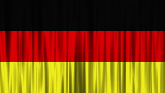 german national flag background (loopable) - chancellor of germany stock videos & royalty-free footage