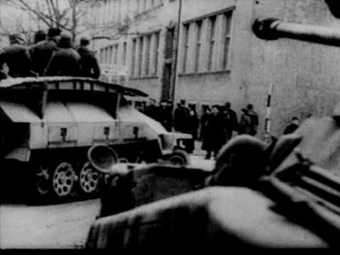 wwii german occupation of hungary - wehrmacht stock videos & royalty-free footage