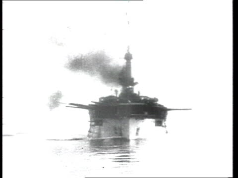 german or russian warships, naval battle . - 1914 stock videos & royalty-free footage