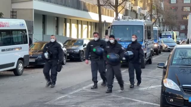 german people on wednesday, dec. 30 carried out a demonstration against those who protest the government's restrictions to curb covid-19 outbreak.... - italy stock videos & royalty-free footage