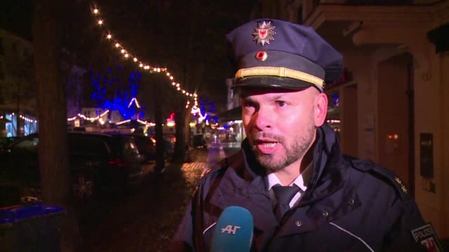 German police on Friday described a possible explosive device found close to a Christmas market in Potsdam saying it contained batteries cables and...