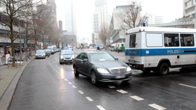german president frankwalter steinmeier is leaving the commemoration ceremony at breitscheidplatz on january 19 2017 in berlin on december 19... - driver's license stock videos and b-roll footage