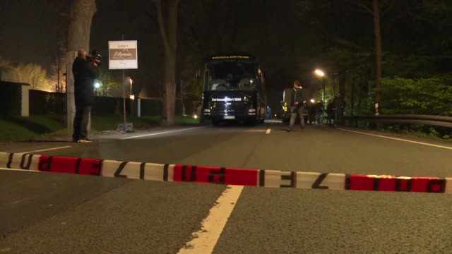 A German Russian man goes on trial accused of carrying out a bomb attack on the Borussia Dortmund football team's bus in an elaborate bid to make a...