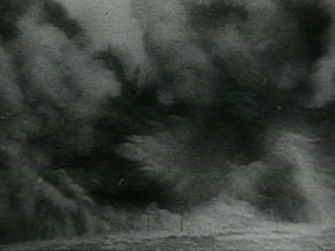 ws pov german soldiers entering suburbs and nazi troops reaching banks of volga river audio / stalingrad russia - volgograd stock videos & royalty-free footage