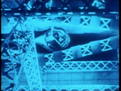 german spies in zeppelins look for targets during world war ii - deutsches militär stock-videos und b-roll-filmmaterial